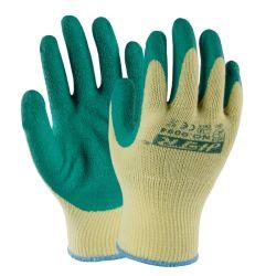 """Сшитых Strong-Grip гильзы природных """"мятым"""" эффектом рабочие перчатки с покрытием из латекса"""