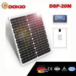 Dokio 20W panel solar monocristalino de células solares de alta calidad