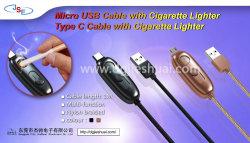 2018 recentste Micro- USB van het Ontwerp Kabel met Aansteker