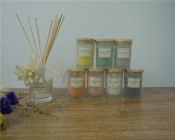 200g-500g ha ricoperto la decorazione di Aromatherapy di vetro sentita candele del vaso, rese personali candela della tazza, candele sentite natale