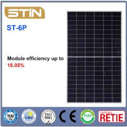 Les panneaux solaires en silicium polycristallin normal (ST-6P30-SC)