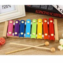 L'échelle en bois 8 pour piano de vibrations des instruments de musique d'enfants de jouets éducatifs (GY-W0115)