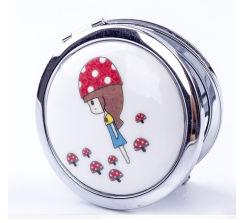 Mini promocional espelho espelhos de bolso