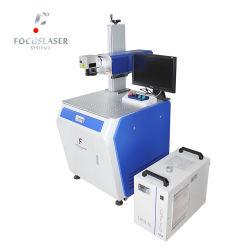 De UVLaser die van Focuslaser 5W Apparatuur van de Ets van het Glas van de Laser van de Machine de UV merken