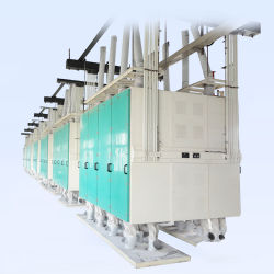 50 Tonnen pro Tag Weizenmehl Fräsmaschinen mit Preis