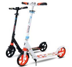 Scooter pliable réglable du coup-de-pied 2-Wheel de Hight pour l'adulte