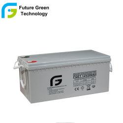 12V 200Ah Valve Regulated étanche au plomb acide rechargeables de type batterie UPS