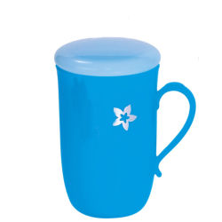 2020 Nova caneca de plástico de Água Azul