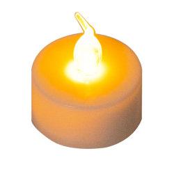 24pcs LED blanc froid chaud bougies flottantes avec Clignotement jaune