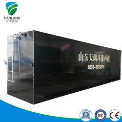 Pianta compatta della strumentazione della macchina di trattamento di acqua di scarico del pacchetto per industriale/la tintura/trattamento dell'ospedale/nazionale acque di rifiuto