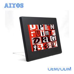 """7 Publicidade"""" da estrutura de exibição de fotos digitais com a estrutura do espelho"""