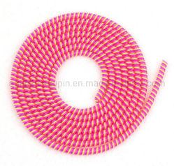 El TPU Three-Color OEM Anti-Break helicoidal de la cuerda de protección de la línea de datos