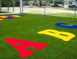 30mm Valse Gras van het Tapijt van het Gras van het Gras van Astro van 16 Steken het Kunstmatige voor Tuin