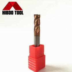 착용할 수 있는 탄화물 정연한 맷돌로 가는 Tisin 코팅 CNC 기계 절단 도구