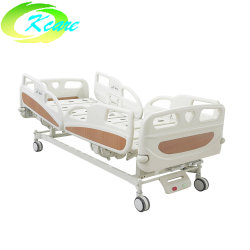 جهاز طبي مزود بغرفتين يدوي وسرير المستشفى مع PP القضيب الجانبي