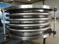 Il metallo dell'acciaio inossidabile della flangia di vendita della fabbrica muggisce il giunto di dilatazione del tubo/singolo tipo assiale il giunto di dilatazione, espansione ondulata dei soffietti del metallo dell'acciaio inossidabile 304