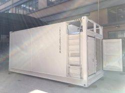 20FT het mobiele Station van de Container met Capaciteit van 26000L