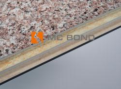 外部のカーテン・ウォールのために耐火性大理石の花こう岩の石の木製アルミニウム複合材料