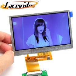 Bildschirmanzeige-Hersteller China-TFT LCD 4.3 Zoll-Mikrobewegungs-Fühler-Video-Player-Baugruppe für Gruß-Karten-Broschüre-Bauteile