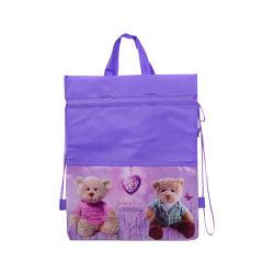 型抜きされたショッピング・バッグPP非編まれたファブリック環境に優しいNonwoven袋