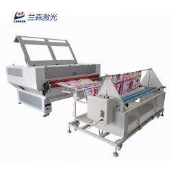 1610 alimentazioni automatiche del cuoio 100W del panno di taglio del laser del CO2 della macchina di tessile