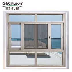 G&C Alumínio Fuson Anti-Explosion único de Hung Janela com vidros duplos