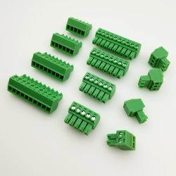 Maximaler Toqure grüner Stecker Schaltkarte-Klemmenleiste des Abstand-3.50mm-3.81mm 0.2nm