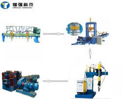 Máquina de fazer do farol H H cruzamento da linha de soldadura automáticos da linha de produção