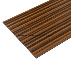 4*8 футов Деревянные зерна алюминиевый Композитный пластик панели