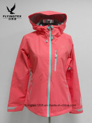 Nouveau design de mode Women's coupe-vent imperméable Veste de pluie