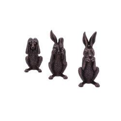 Saída do fabricante Quanzhou Polyresin Coelho da Páscoa Figurine Home/decoração de jardim