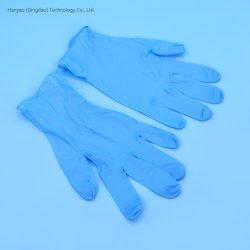 Multifunción médicos guantes quirúrgicos CNA SGS Hospital certificado 100% Examen Médico Guantes de nitrilo azul/blanco 3.5g Guantes de nitrilo desechables