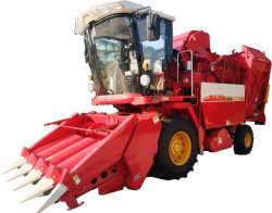 Exploitation agricole de combiner des roues/ Récolte du maïs / machine de récolte de la récolteuse 4yzp-4CC04 de la conduite avec la certification CE