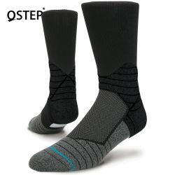 Fornecedor de fábrica Design de Moda respirável Anti-Bacterial longas meias de Basquetebol personalizada