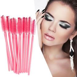 Gel de Silicone jetables peigne Brosse Mascara cils Wands Cils Extension tool outil maquillage beauté professionnels pour les femmes