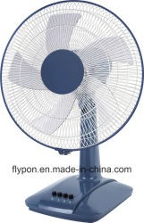 Cuerpo negro 3 Soporte de la velocidad del ventilador de mesa Casa/Oficina aparato pies40-705