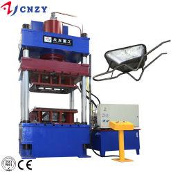 La macchina della pressa idraulica dello stampaggio profondo per il carrello della riga della barra rotella/della carriola che fa con muore/muffe