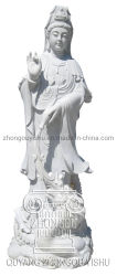 Большие каменные статуи Будды Guanyin скульптура