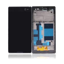 Haut de page OEM de la qualité de l'écran LCD tactile du téléphone mobile pantalla de l'écran LCD de Sony C3 terminée