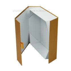Logotipo personalizado hecho a mano ropa de envases de cartón de embalaje Caja de regalo
