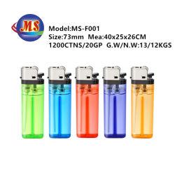 Usine directement briquet jetable en plastique d'alimentation de silex pour fumer de l'utilisation