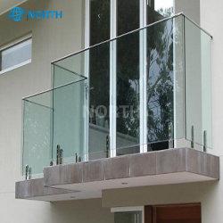 [هيغقوليتي] حديثة شرفة درابزين تصميم زجاجيّة درابزون [فرملسّ] درابزين شرفة زجاج