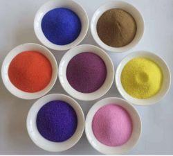 Het Decoratieve Zand 80*120mesh van het Zand van de Kleur van de Kleurstof van de lage Prijs