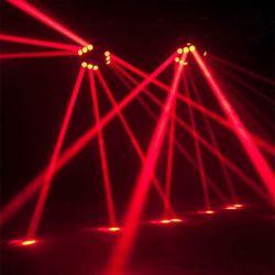 indicatore luminoso capo mobile del ragno del fascio LED della spazzatrice di Sharpy del triangolo 9X10W