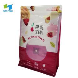 Eco friendly Flexiblenut Zipper bolsas de embalaje de alimentos
