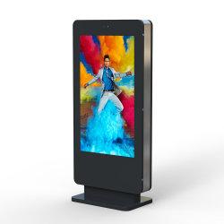 선수 디지털 Signage를 광고하는 옥외 LCD 움직일 수 있는 방수 토템