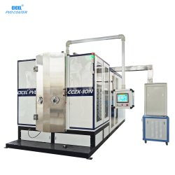 Cicel 세라믹 타일 티타늄 골드 PVD 진공 코팅 머신
