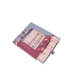 호화스러운 주문 로고는 재생한 마분지에 의하여 변화된 색깔 립스틱 Lipgloss 입술 크림 입술 색깔 화장품 메이크업 개인 배려 종이 선물 패킹 포장 차를 인쇄했다