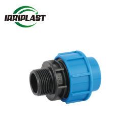 Высокое качество заводская цена Eco Pn16 HDPE PP Компрессионные фитинги переходника мужчин сцепка
