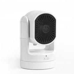 سخان منزلي سهل الحمل مع جهاز تدفئة منزلي بقدرة 750 واط كهربائي مسخنات المروحة الخزفية